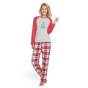 ED Ellen DeGeneres Women's Holiday Pajama Set